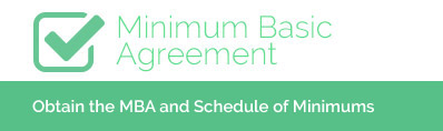 Minimum Basic Agreement - Obtain the 2014 MBA and Schedule of Minimums