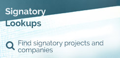 Signatory Lookups - Find signatory projects and companies