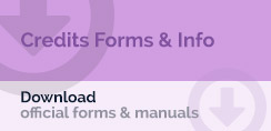Credits Forms & Info - Download: Official forms & manuals